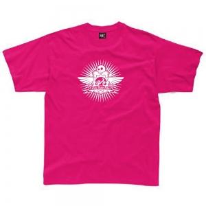 Tee Shirt Kids Rider Bike Rose