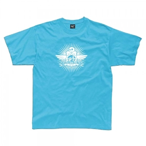 Tee Shirt Kids Rider Bike Bleu