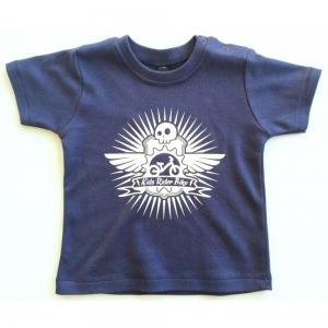 Tee Shirt Kids Rider Bike Navy