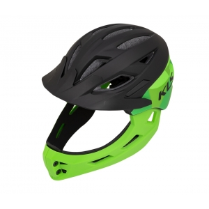 Casque KLS Sprout black green