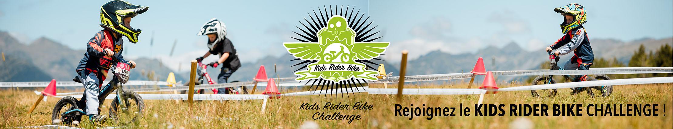 Le kids rider bike challenge